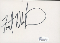 Forest Whitaker Signed 3.5x5 Index Card (JSA COA) at PristineAuction.com