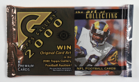 2000 Topps Gallery Football Hobby Edition Foil Pack with (6) Cards at PristineAuction.com