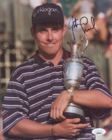 Justin Leonard Signed 8x10 Photo (JSA COA) at PristineAuction.com