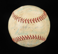 1954 White Sox OAL Baseball Team-Signed by (19) with Nellie Fox, Jim Rivera, Chico Carrasquel, Sherm Lollar (Beckett LOA) at PristineAuction.com