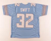 D'Andre Swift Signed Jersey (JSA Hologram) at PristineAuction.com