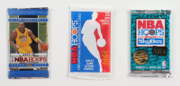 Lot of (3) NBA Hoops Unopened Packs with 2011-12, 1989-90, 1994-95 at PristineAuction.com
