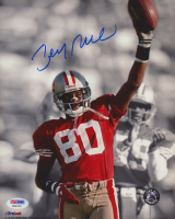 Jerry Rice Signed 49ers 8x10 Photo (PSA COA) at PristineAuction.com