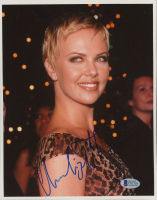 Charlize Theron Signed 8x10 Photo (Beckett COA) at PristineAuction.com