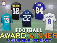 Schwartz Sports Football Award Winner Signed Jersey Mystery Box – Series 4 (Limited to 100) (EVERY PLAYER IS AN AWARD WINNER!!!!) at PristineAuction.com