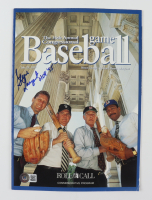"""Steve Largent Signed 1997 """"36th Annual Congressional Baseball Game"""" Commemorative Program Inscribed """"HOF '95"""" (Beckett COA) (See Description) at PristineAuction.com"""