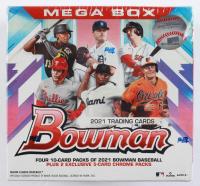 2021 Bowman Baseball Mega Box with (50) Cards (See Description) at PristineAuction.com