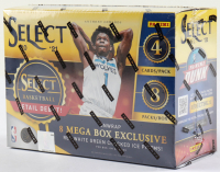 2020-21 Panini Select NBA Basketball Trading Cards Mega Box With (8) Packs (See Description) at PristineAuction.com
