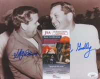 Gay Brewer & Jack Burke Signed 8x10 Photo (JSA COA) (See Description) at PristineAuction.com