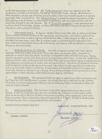 Richard Harris Signed 8.5x11 Document (JSA COA) at PristineAuction.com