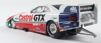 John Force Signed LE Castrol GTX 1998 Mustang Funny Car 1:24 Action Die Cast Car (Beckett COA) (See Description) at PristineAuction.com