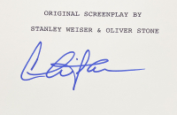 """Charlie Sheen Signed """"Wall Street"""" Movie Script (PSA COA) at PristineAuction.com"""