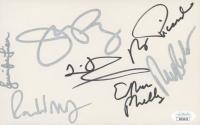 """Star Trek: Voyager"" 5x8 Cut Cast-Signed by (7) with Jeri Ryan, Robert Beltran, Robert Picardo, Ethan Phillips (JSA LOA) at PristineAuction.com"