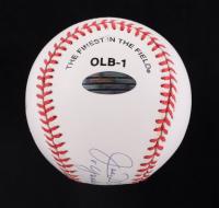 "Joe DiMaggio Signed OL Commemorative Baseball Inscribed ""Yankee Clipper"" (Steiner Hologram & DiMaggio Hologram) at PristineAuction.com"