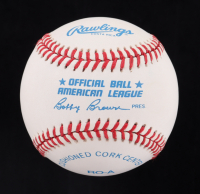 Ted Williams Signed OAL Baseball (Williams Hologram) at PristineAuction.com