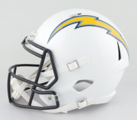 Joey Bosa Signed Chargers Full-Size Speed Helmet (Beckett COA) at PristineAuction.com