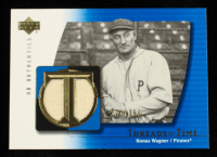 Honus Wagner 2003 UD Authentics Threads of Time #HW Pants #201/350 at PristineAuction.com
