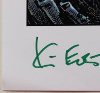 """Kevin Eastman Signed """"The Fifth TMNT"""" 11x17 Photo with Hand-Drawn Sketch (Beckett COA) (See Description) at PristineAuction.com"""