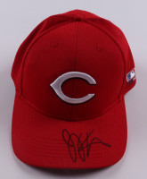 Joey Votto Signed Reds Hat (Beckett COA) at PristineAuction.com