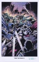 "Kevin Eastman Signed ""TMNT Batman IV"" 11x17 Photo (Beckett COA) (See Description) at PristineAuction.com"