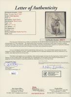 "Mark Sparacio Signed ""Star Wars"" 8x10 Drawing (JSA LOA) at PristineAuction.com"