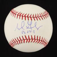 Adrian Gonzalez Signed OML Baseball (MLB Hologram) at PristineAuction.com