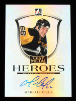 Mario Lemieux 2014-15 ITG Leaf Metal Heroes #MHML1 #12/25 at PristineAuction.com