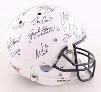 "Penn State Nittany Lions ""Linebacker U"" LE Full-Size Helmet Team-Signed by (10) with Jack Ham, Sean Lee, Shane Conlan, Paul Posluszny (JSA COA) at PristineAuction.com"