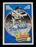 Stan Musial 2005 Upper Deck Baseball Heroes Signature Blue #71 #7/20 at PristineAuction.com