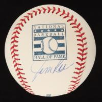 Jim Rice Signed OML Hall of Fame Logo Baseball (YSMS COA) at PristineAuction.com