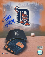 Curtis Granderson Signed Tigers 8x10 Photo (Beckett COA) at PristineAuction.com