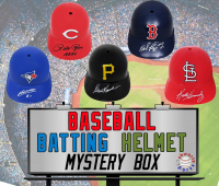 Schwartz Sports Signed Baseball Batting Helmet Mystery Box – Series 6 (Limited to 75) at PristineAuction.com