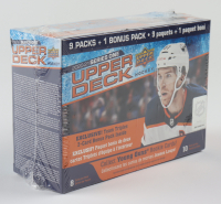 2020-21 Upper Deck Series 1 Hockey Box with (10) Packs at PristineAuction.com