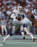 "Deion Sanders Signed Cowboys 16x20 Photo Inscribed ""HOF 2011"" (JSA COA) at PristineAuction.com"