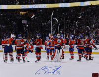 Cam Talbot Signed Oilers 11x14 Photo (Talbot COA) at PristineAuction.com