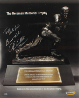 """John Cappelletti Signed 24x30 Heisman Trophy Poster Inscribed """"Best Wishes"""" & """"73 Heisman"""" (Beckett COA) at PristineAuction.com"""