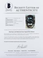 Matt Ryan & Mohammed Sanu Signed Falcons Mini Helmet (Beckett LOA & Fanatics Hologram) at PristineAuction.com