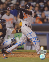 Brian Roberts Signed Orioles 8x10 Photo (Beckett COA) at PristineAuction.com