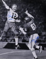 """Roger Staubach & Curley Culp Signed 16x20 Photo Inscribed """"HOF '85"""" & """"HOF 13"""" (PSA COA) at PristineAuction.com"""