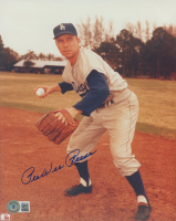 Pee Wee Reese Signed Dodgers 8x10 Photo (Beckett COA) at PristineAuction.com