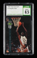 Shaquille O'Neal 1992 Classic Four Sport #1 (CSG 8.5) at PristineAuction.com