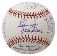 1969 Mets OML Baseball Team-Signed by (24) with Tom Seaver, Nolan Ryan, Donn Clendenon, Jerry Koosman, Cleon Jones, Al Weis (JSA LOA) at PristineAuction.com