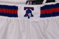 Joel Embiid 76ers Game-Issued 2019-20 Basketball Shorts (Fanatics Hologram) at PristineAuction.com
