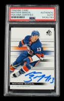 Mathew Barzal Signed 2019-20 SP Authentic #93 (PSA Encapsulated) at PristineAuction.com