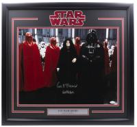 "Ian McDiarmid Signed ""Star Wars"" 24x30 Custom Framed Photo Display Inscribed ""Emperor"" (JSA Hologram) at PristineAuction.com"