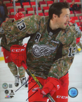 Pavel Datsyuk Signed Red Wings 8x10 Photo (Beckett COA) at PristineAuction.com