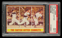 Mickey Mantle 1962 Topps #318 In-Action (PSA 7) at PristineAuction.com