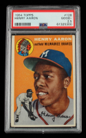 Hank Aaron 1954 Topps #128 RC (PSA 2.5) at PristineAuction.com