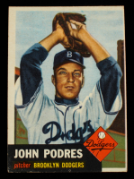 Johnny Podres 1953 Topps #263 RC at PristineAuction.com