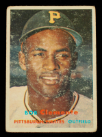 Roberto Clemente 1957 Topps #76 at PristineAuction.com